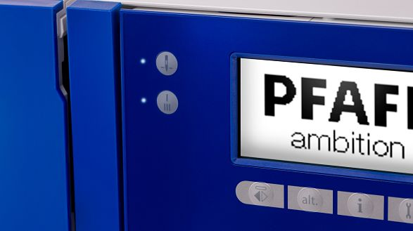 PFAFF®-LCD-Screen PFAFF Ambition 610