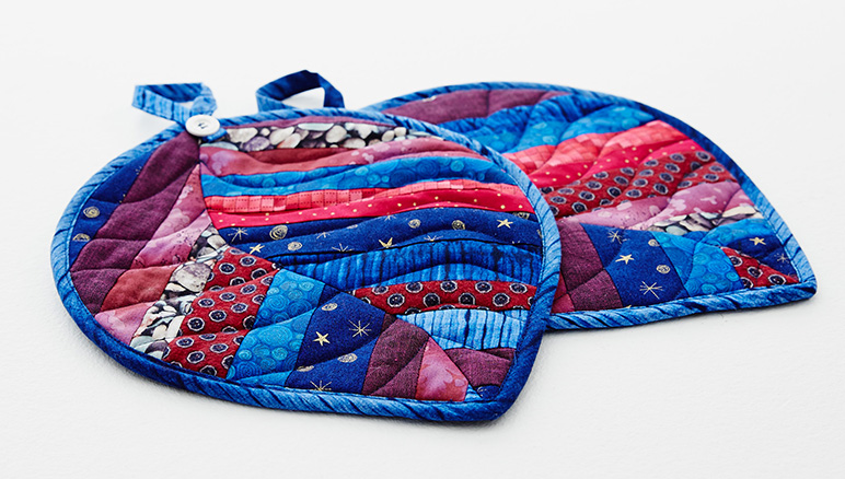 Pfaff - Quilted Hot Pad Leafs : quilted hot pads - Adamdwight.com