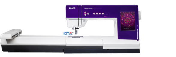 PFAFF 1//4 INCH PIECING FOOT RIGHT SIDE GUIDE CREATIVE 4.5 CREATIVE PERFORMANCE