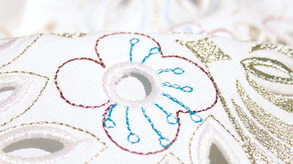 Increased Embroidery Speed